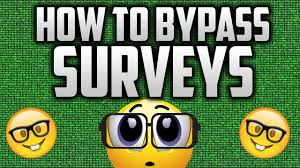 surveymasher.com for bypass survey: