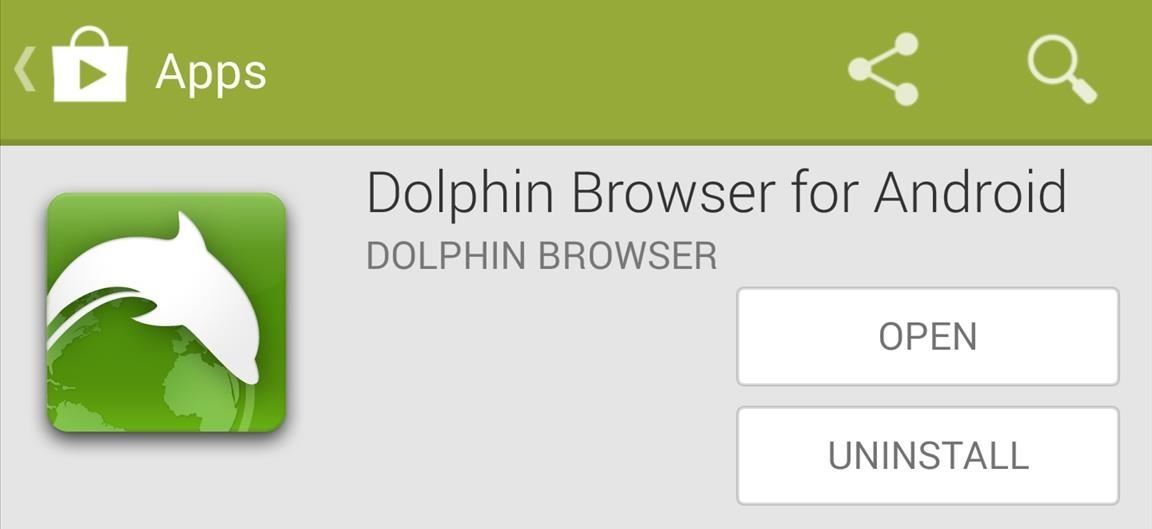 Dolphin Browser for PC Windows Install