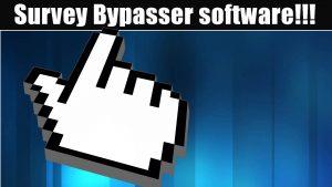 using softwareby bypass surveys:
