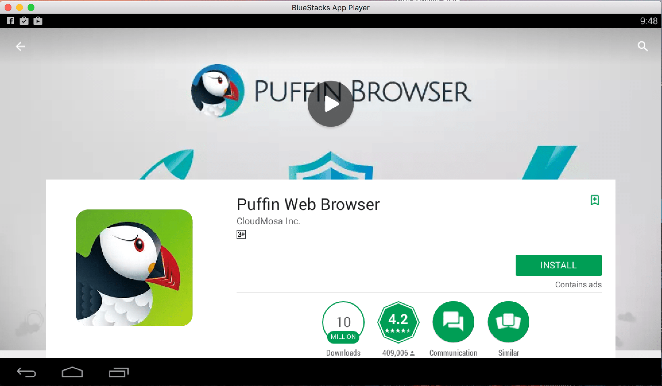 install Puffin Browser for PC