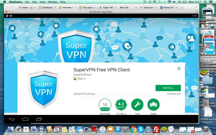 Super VPN for PC Windows and Mac