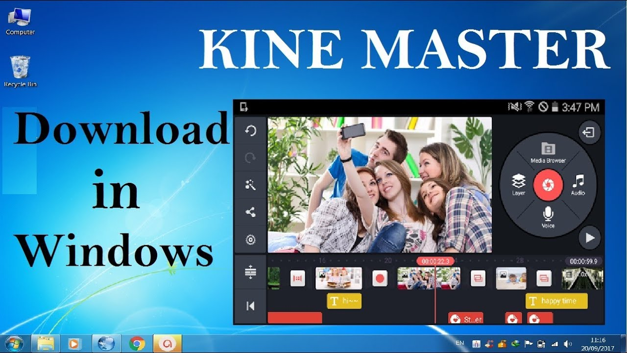 KineMaster for PC and Mac - Windows 7, 8, 10 - Free Download