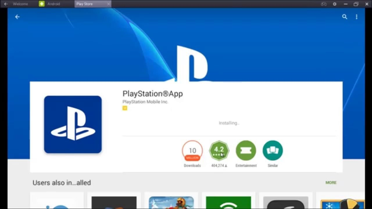PlayStation app for pc