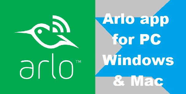 Arlo app for pc