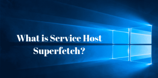 Service Host SuperFetch High Disk