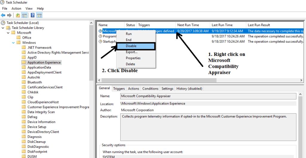 Microsoft Compatibility Telemetry windows 7