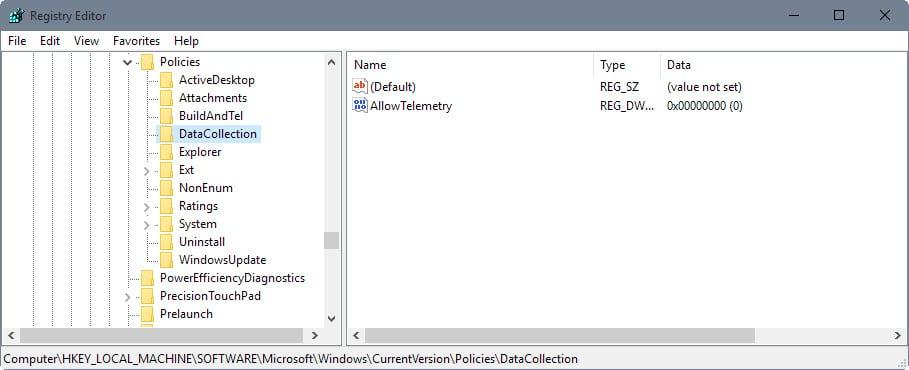 Microsoft Compatibility Telemetry 10