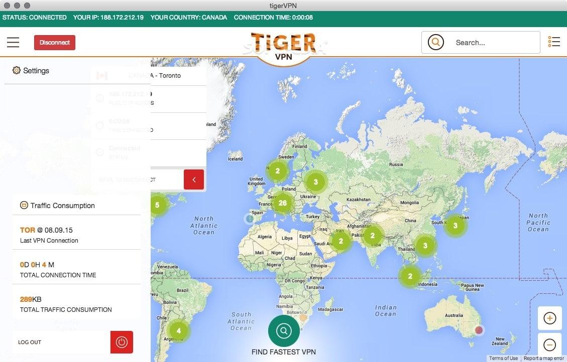 TigerVPNs for Windows PC Mac OS and Vista Free Download