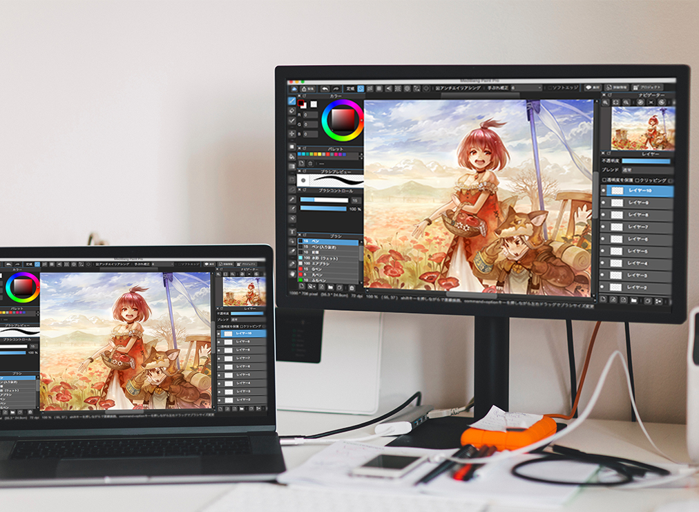 How to Download and Use the MediBang Paint Pro App