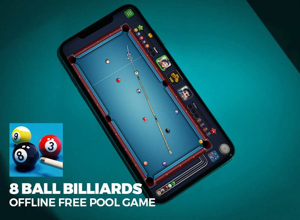 8 Ball Billiards – Offline and Free Pool Game for Mobile
