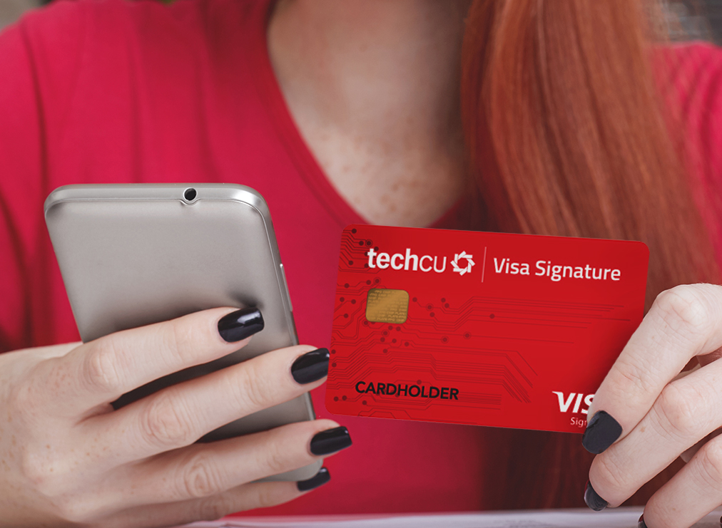 Technology Credit Card - Discovery Tech VISA CU with Rewards Points