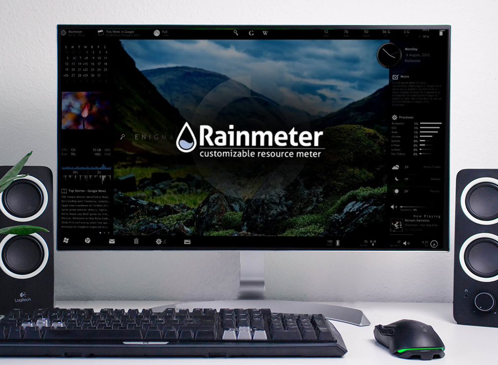 Use Rainmeter to Personalize Your Desktop