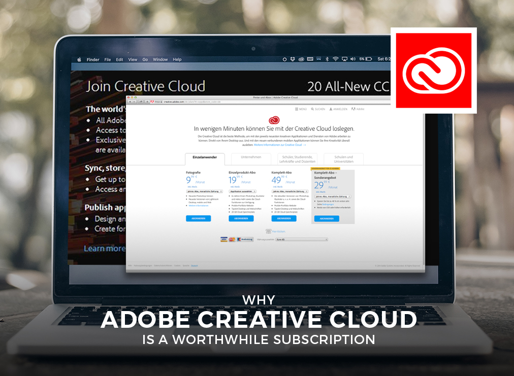 Why Adobe Creative Cloud is a Worthwhile Subscription