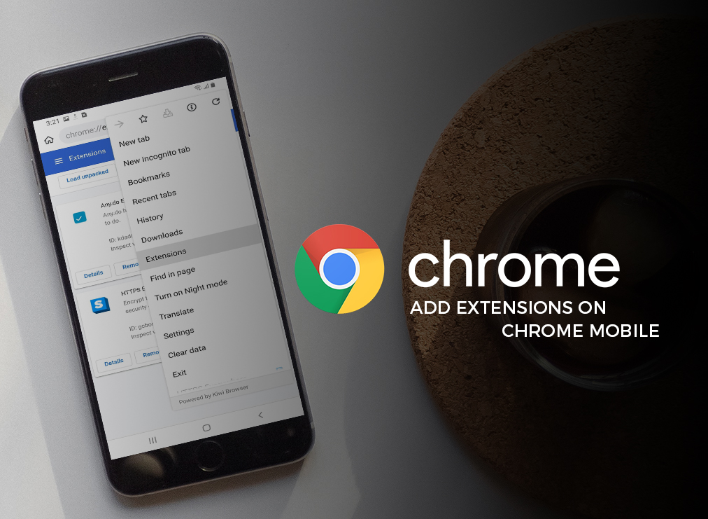 How to Add Extensions to Chrome Mobile