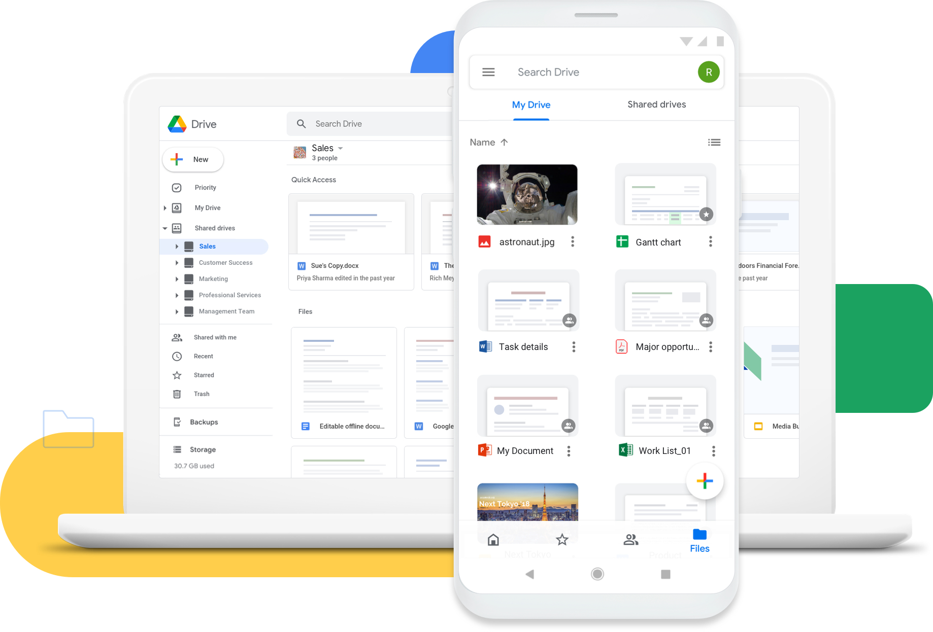 How to Use the Google Drive App on the Go