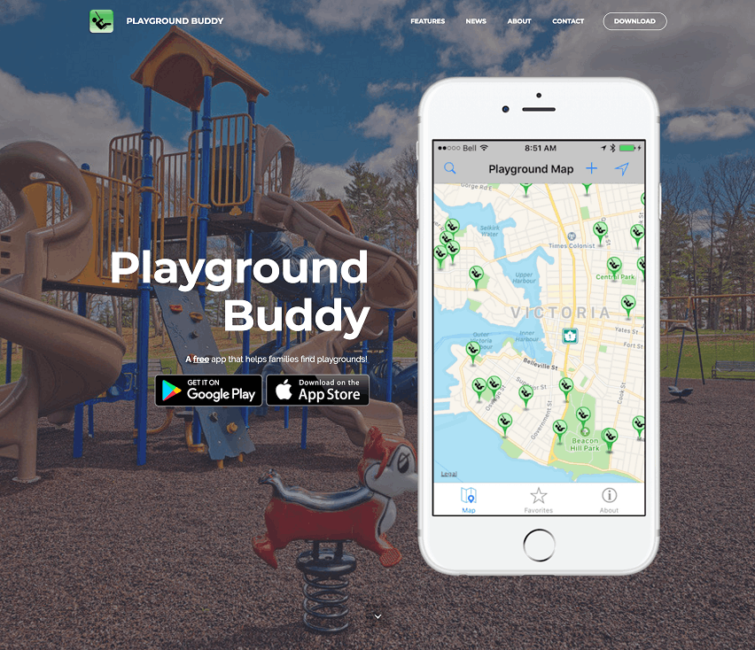 Application to Help Mothers Find Playgrounds – Try Playground Buddy Today