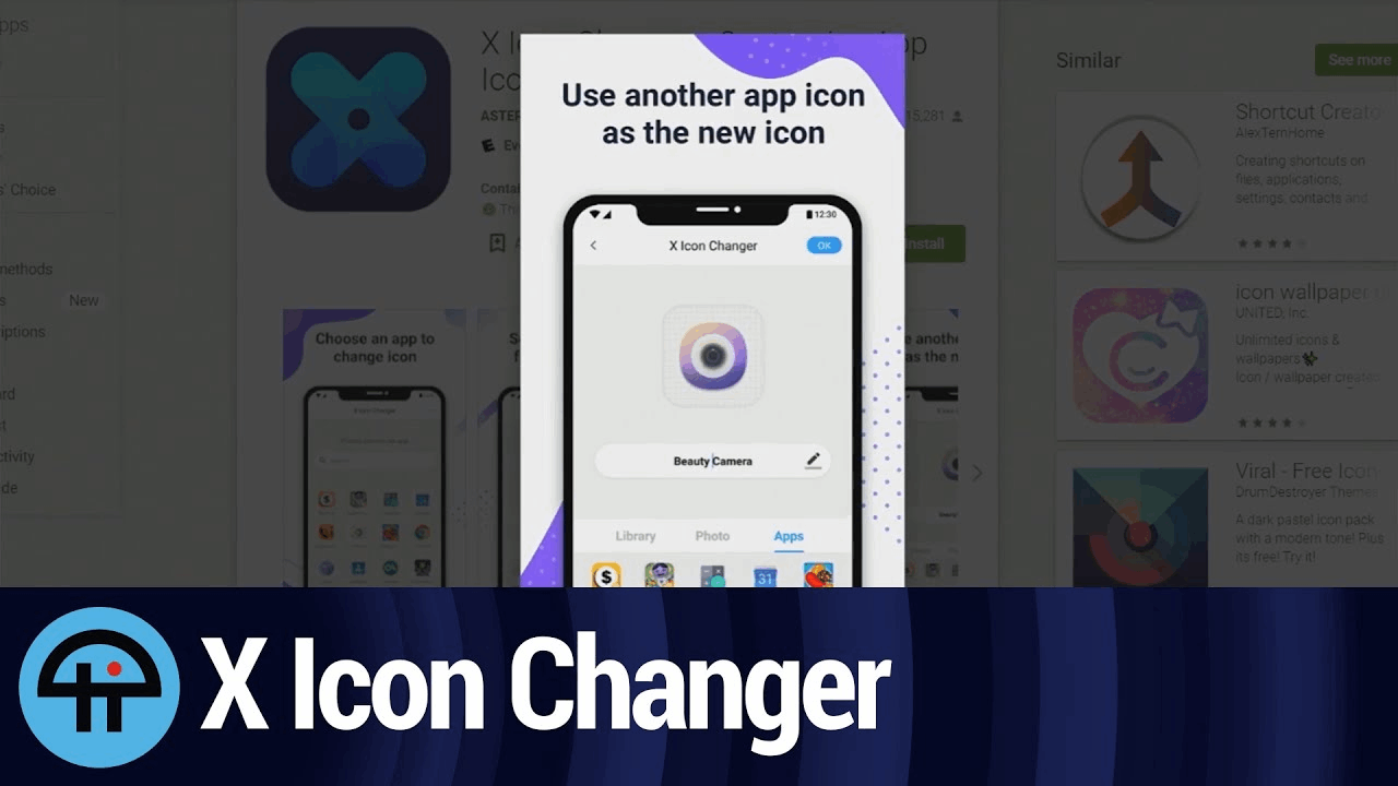 App X Icon - Learn How to Personalize App Icons