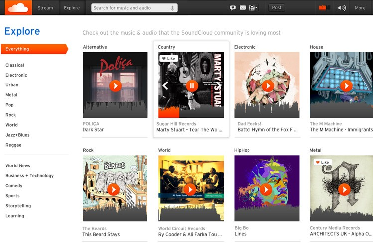 SoundCloud - Discover this Online Audio Distribution and Music Sharing Platform
