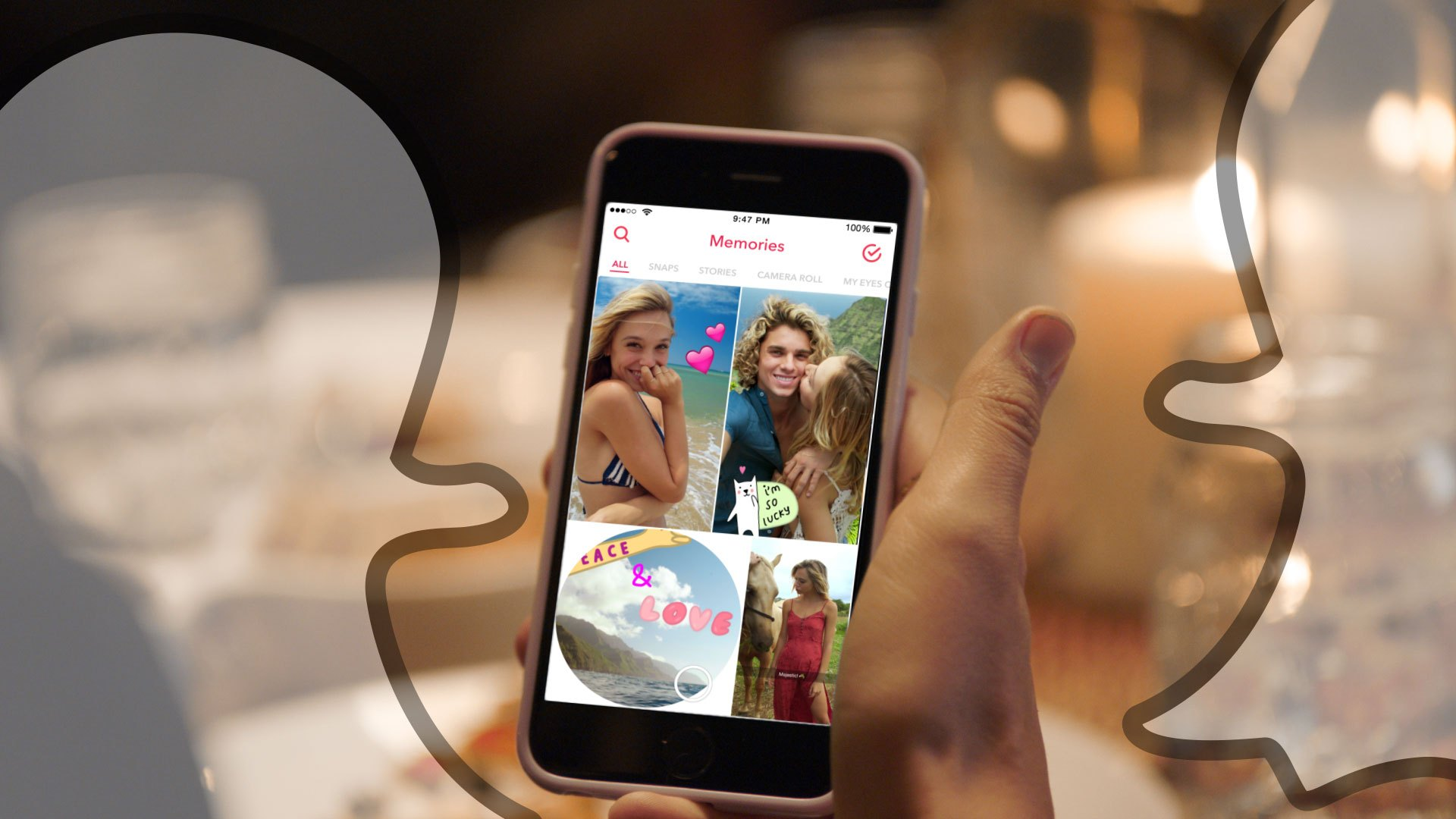 Snapchat: The App to Share Moments, Play Games, and Track People