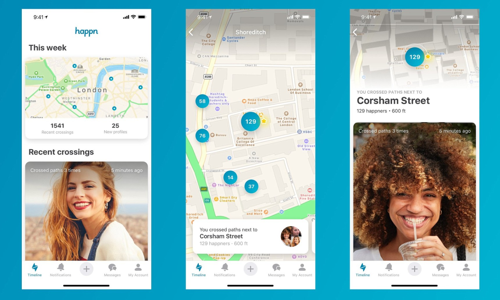 See How Happn Works - The Best App for Local Dating