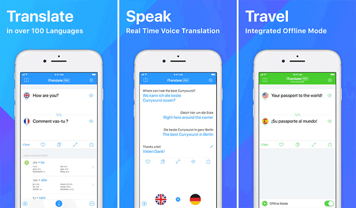 Translate in Real-Time with iTranslate Free Conversation Translator - One of the Best Translation Apps