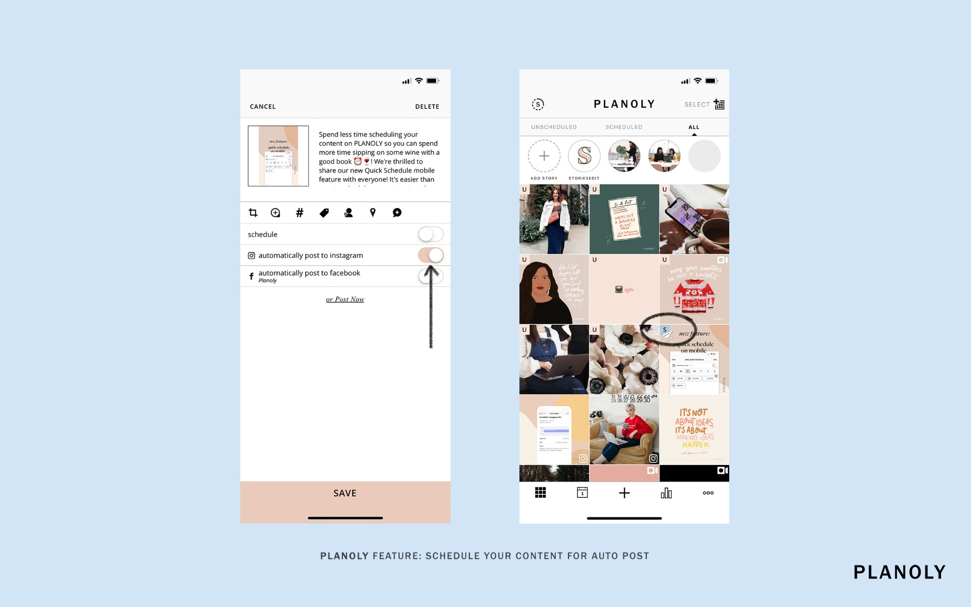 Planoly - Check Out How to Schedule Posts on Pinterest and Instagram with this App