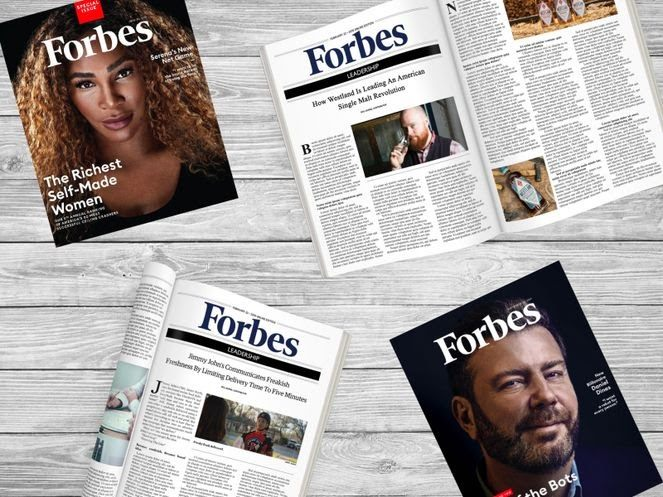 Forbes Magazine - Users Have the World's Largest Business Magazine in Their Pocket with this App