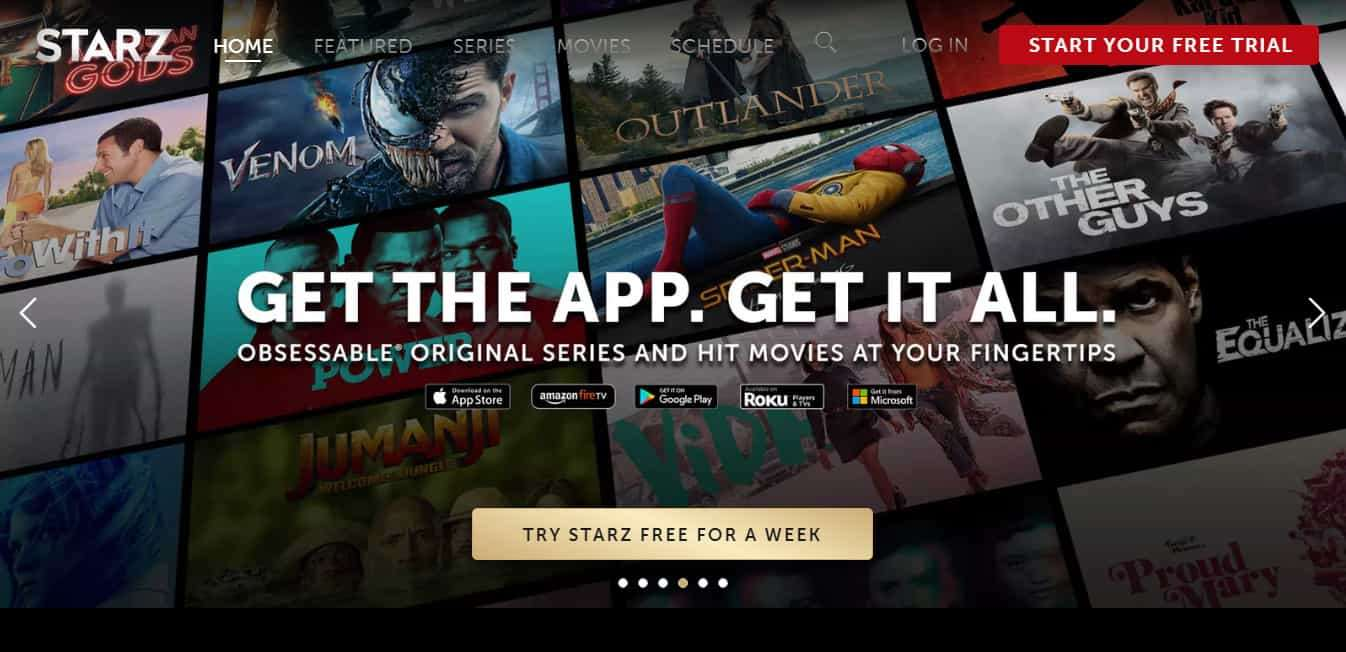 Check Out The Ultimate Entertainment App: Starz App