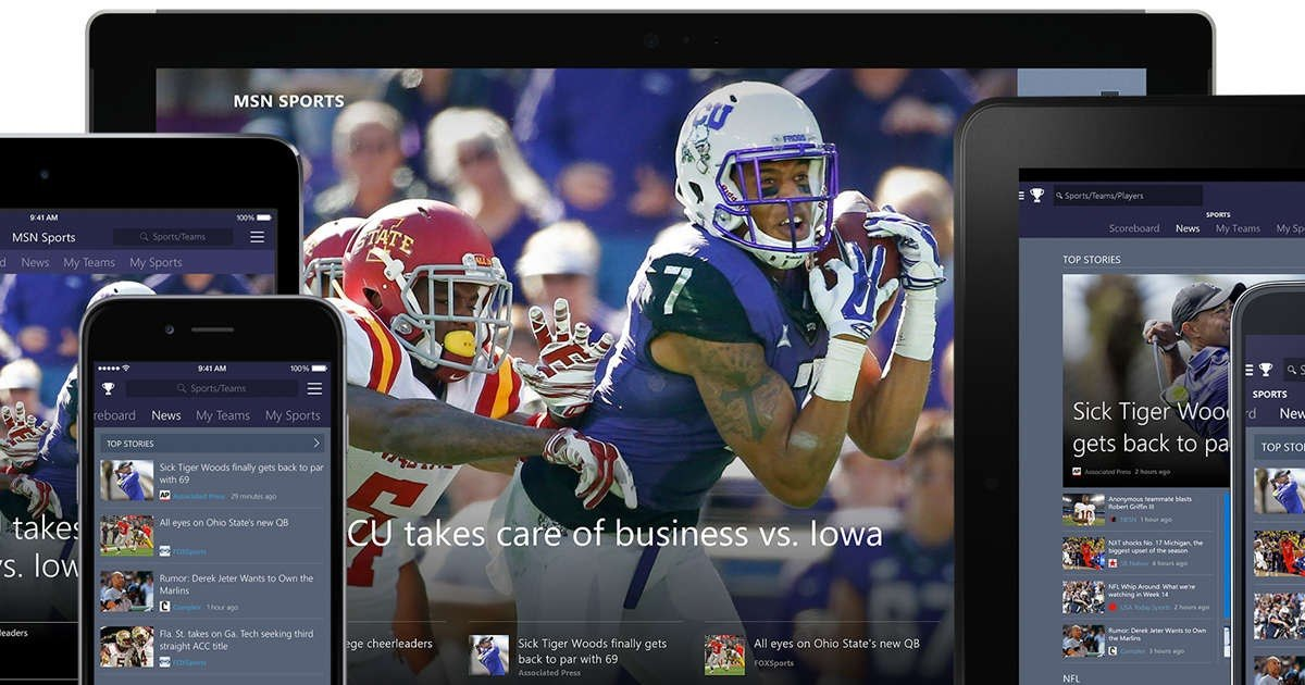 Stay Updated with the MSN Sports App