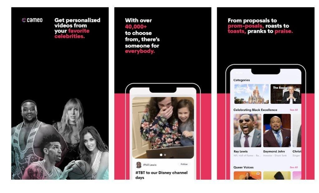 Get Personal Messages from Celebrities with the Cameo App
