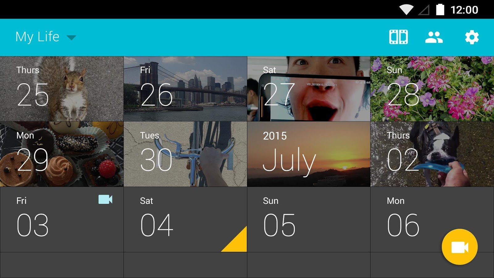 Take A One Second Video Everyday With This App