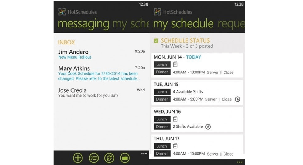 HotSchedules for Business: The Employee Scheduling App