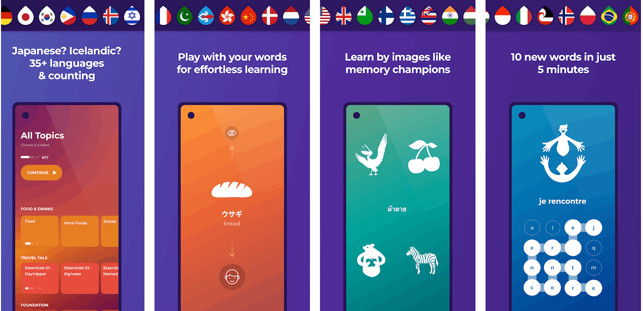 Drops For Language Learning: Check Out This App