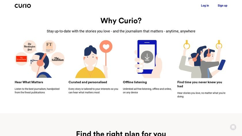 Curio App: The App That Lets Users Listen To News Articles Anywhere
