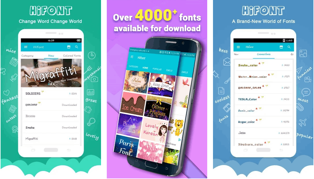 How to Add Different Fonts on Mobile